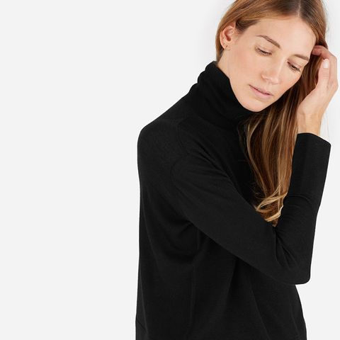 The Luxe Wool Square Turtleneck