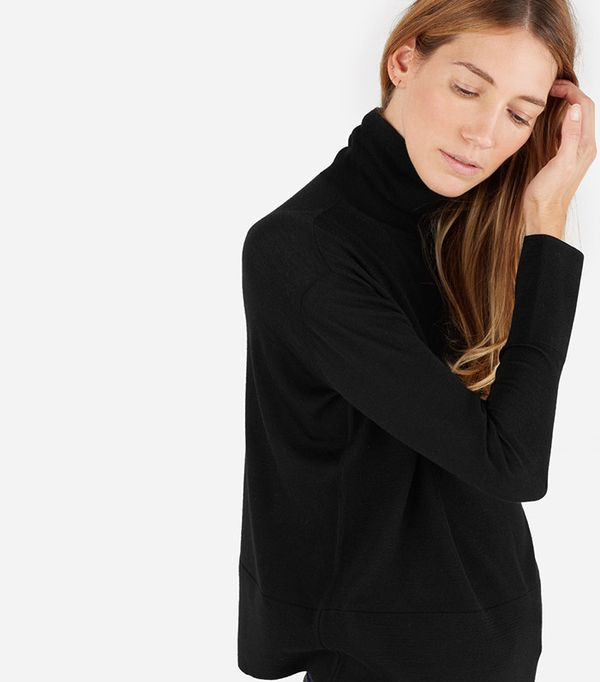 Everlane The Luxe Wool Square Turtleneck