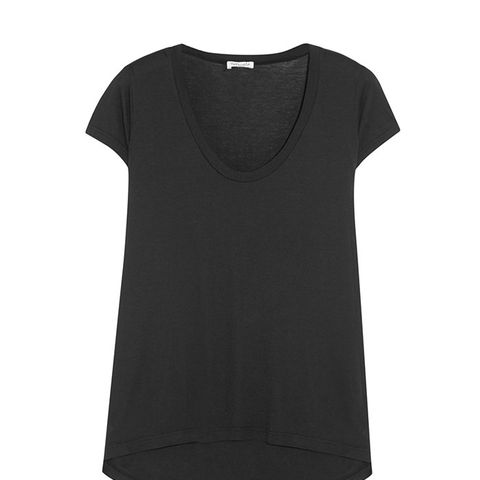 Cotton and Modal-Blend Jersey Top