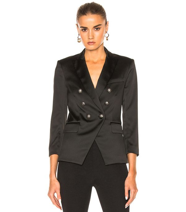 Veronica Beard Empire Double Breasted Blazer