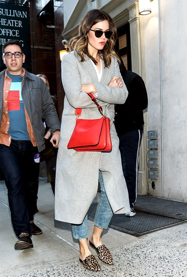 Mandy Moore in mules