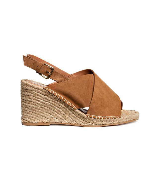 Wedge-heel Sandals