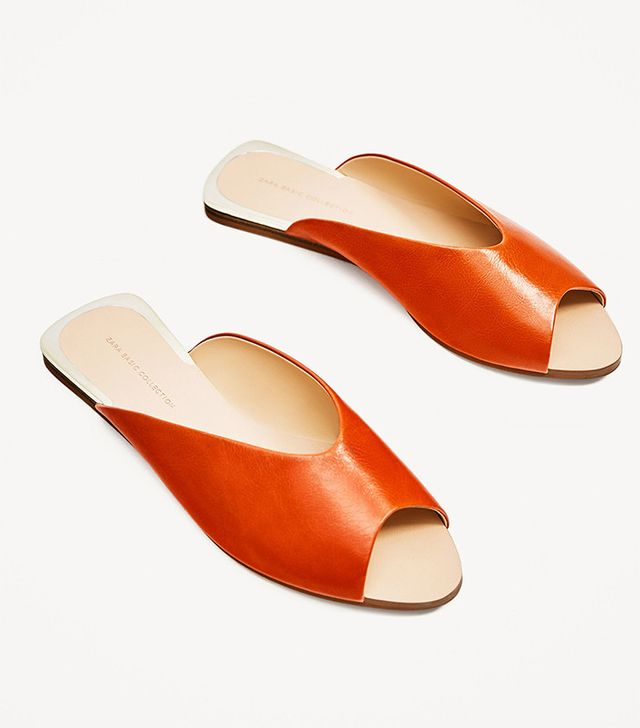 best flat Zara sandals