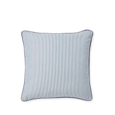 Perennials Ticking Stripe Pillow