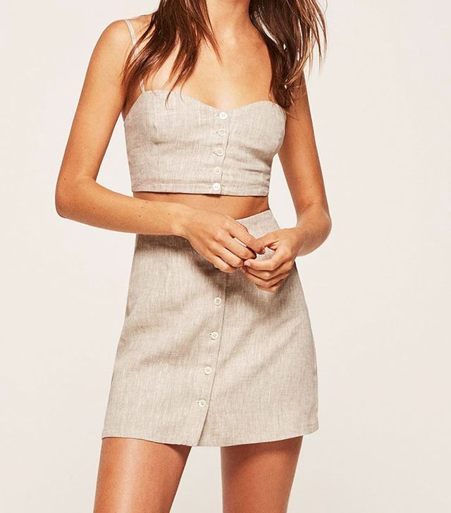 reformation matching two piece set