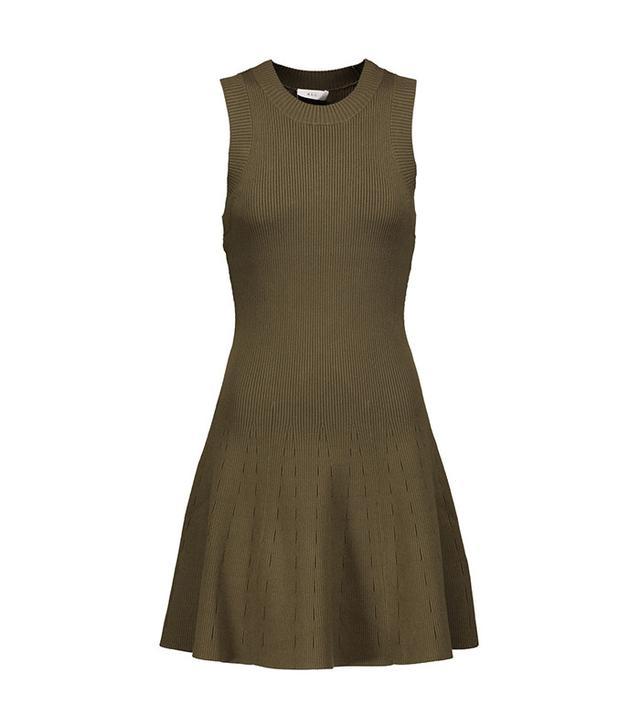 best green minidress