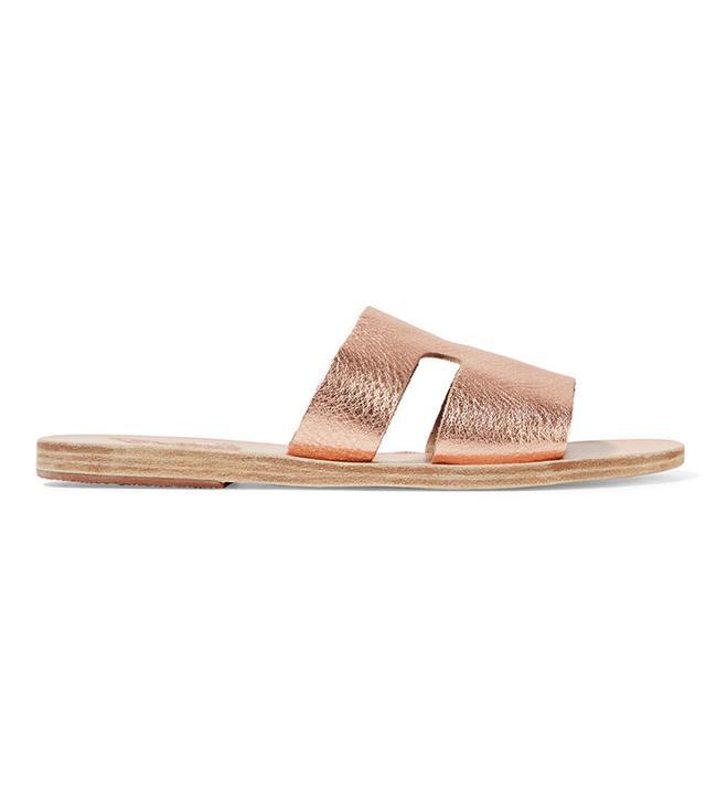 best rose gold sandals