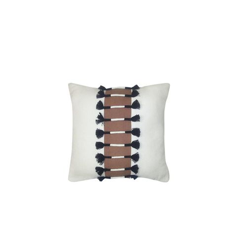 Corded Tassel Throw Pillow