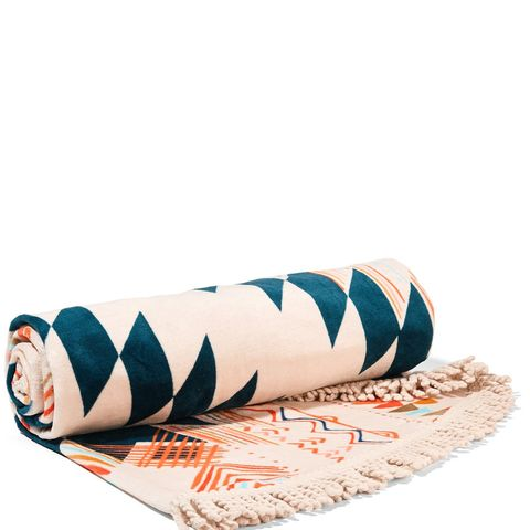 The Caribbean Round Cotton-Terry Towel