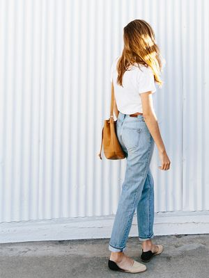 "The Jeans Madewell Shoppers Call ""Perfection"" Are Back in Stock"