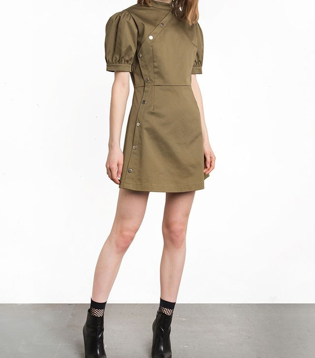 best olive green dress