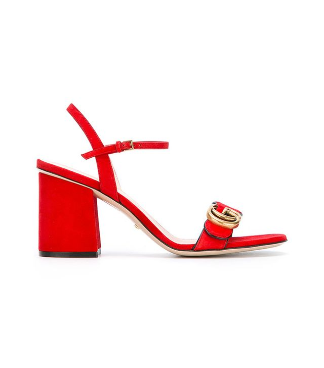 best red sandals
