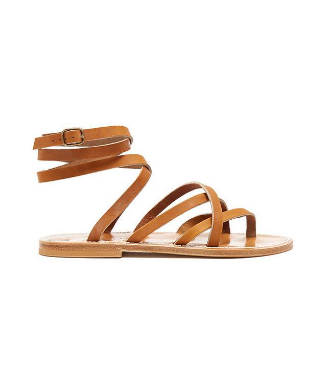 best flat brown sandals