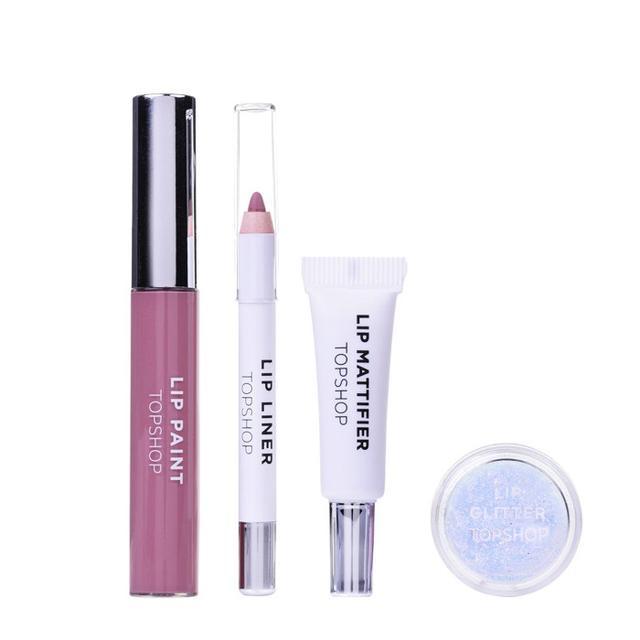 topshop lip kit review