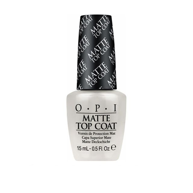 how to get the matte nail look