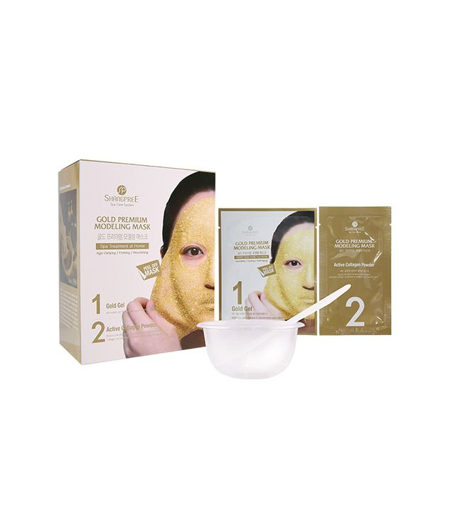 best Korean face masks - Shangpree Gold Premium Modeling Mask
