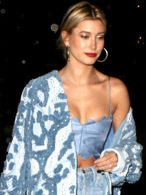 The Jeans Hailey Baldwin Can't Stop Wearing This Week
