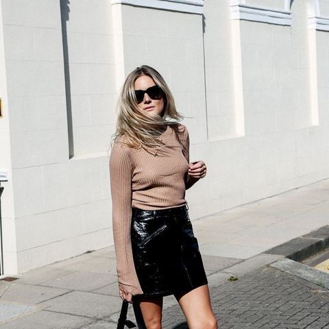 4 Outfits To Make You Love Your Leather Skirt All Over