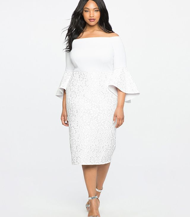 The Coolest Plus Size Wedding Dresses This Season From A