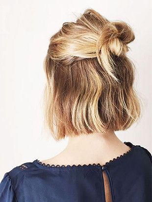 """We Found the Best """"Dirty Hair"""" Hairstyles on Pinterest"""