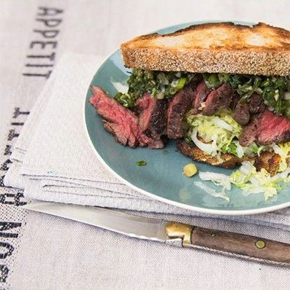 Kate Gibbs Reveals Her Recipe for the Perfect Steak Sandwich
