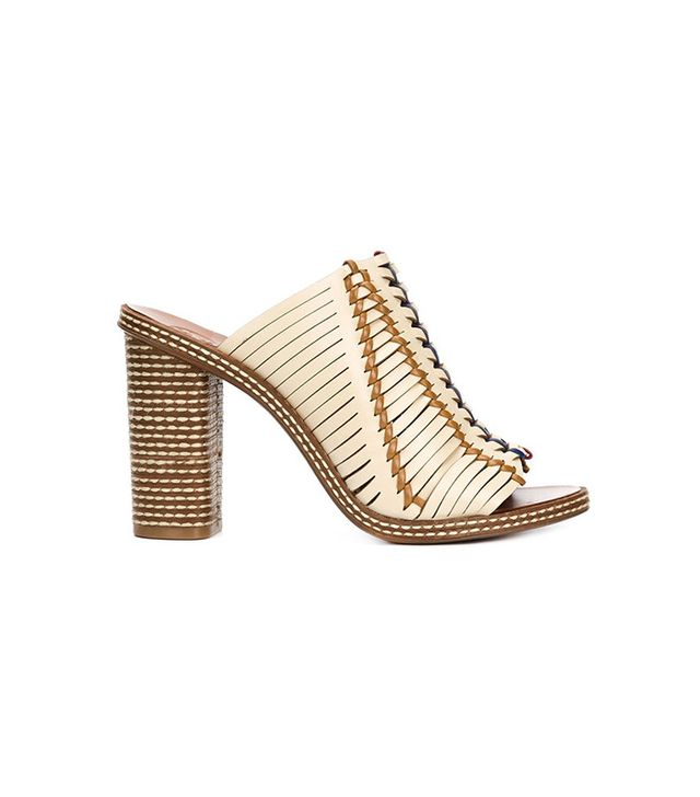 Tory Burch Woven Mules