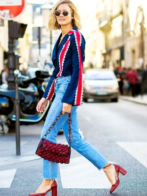 How to Wear Color Like a French Girl