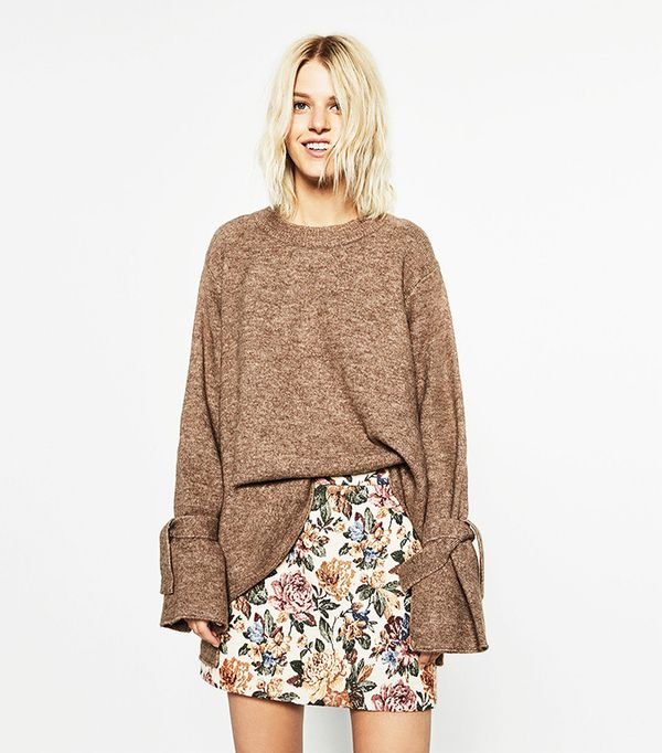 Zara Short Tapestry Skirt