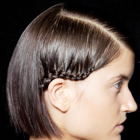 Fabulous 10 Braids That Look Amazing On Short Hair Byrdie Short Hairstyles Gunalazisus