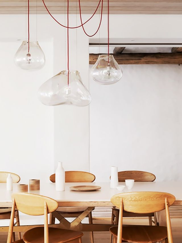 Hang Dining Room Lights at the Right Height