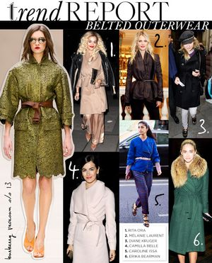 Belted Outerwear