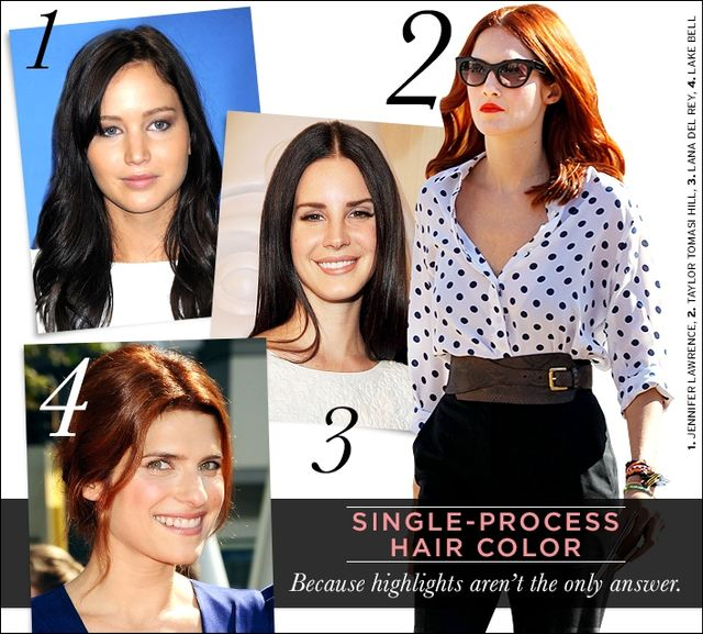 Single-Process Hair Colour
