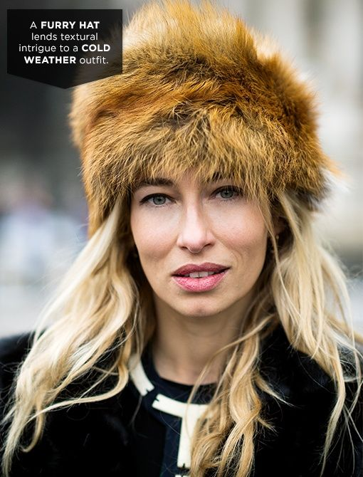 Similar Style:Coach Fur Cossack Hat ($698)