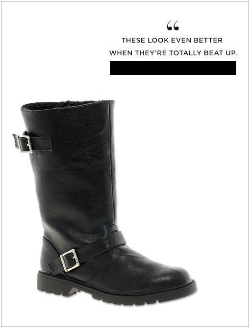 Cyclone Biker Boots ($79)