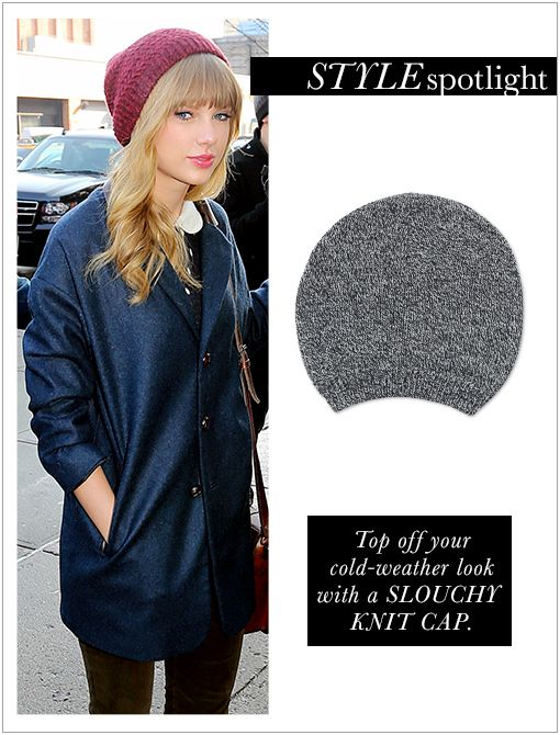 Marl Slouch Beanie ($24)Image courtesy of Splash News