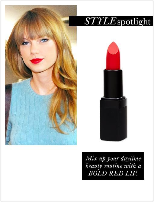 Lipstick ($24) in Jungle Red.Image courtesy of Startracks