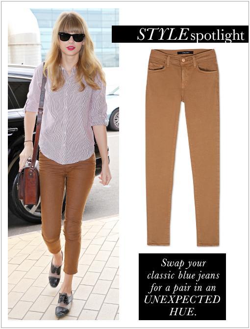 811 Mid-Rise Skinny Leg Jeans ($172) in Pale SaharaImage courtesy of AKM-GSI
