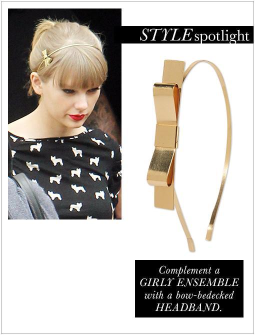 Folded Bow Headband ($6)Image courtesy of INF Photo