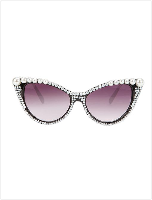 Pearl Cat-Eye Sunglasses ($21)