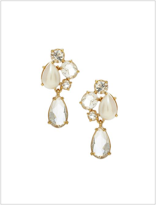 Fragment Pearl Drop Earrings ($78)