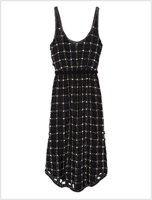 New Romantics Material Girl Lattice Dress ($500)