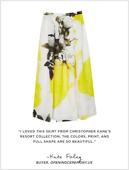 Printed Skirt ($1350)