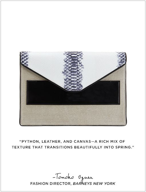 Python Large Envelope Clutch ($1400)