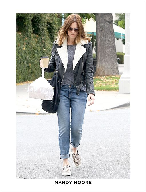 Actual Style:Current/Elliott The Rolled Skinny Jeans ($218) in BleeckerImage courtesy of AKM-GSI