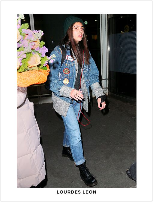 Similar Style:Joe's Jeans Vintage Reserve Boyfriend Jeans ($169) in TessImage courtesy of Splash News
