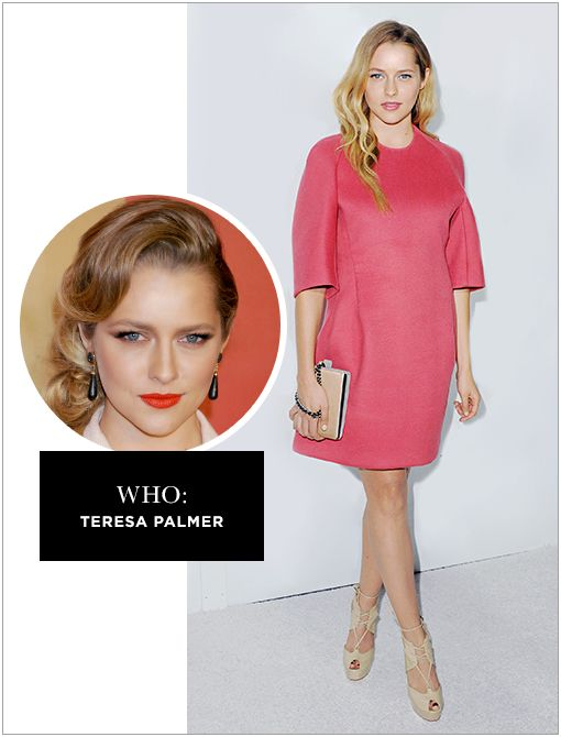 WHO: Teresa Palmer