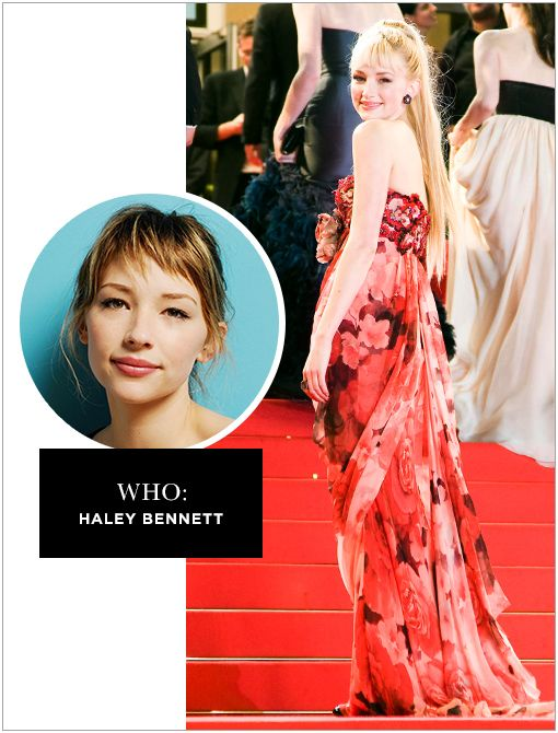 WHO: Haley Bennett WHAT: Admit it, you've seen her in Marley & Me. WHY: Stars in this summer's as-yet-untitled film from visionary director Terrence Malick, college horror flick Random alongside...