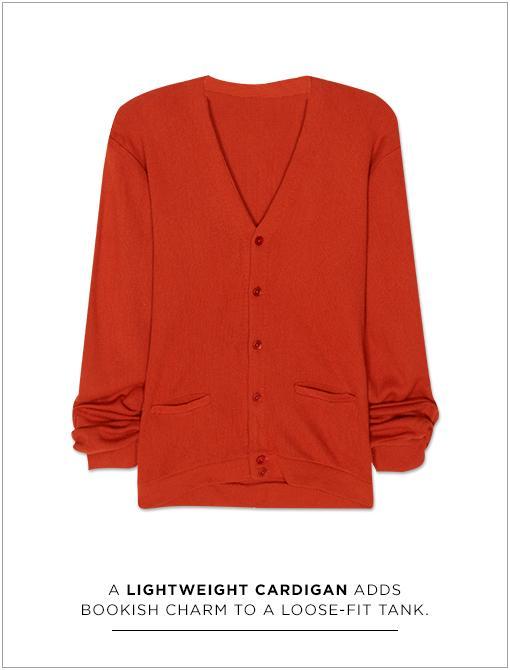 Vintage Oversized Boyfriend Cardigan ($44)