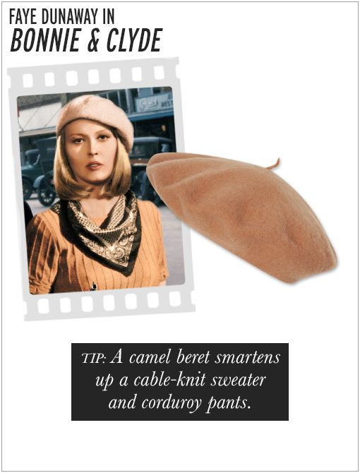 American Apparel Unisex Wool Beret ($24) in Camel