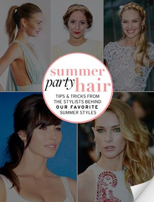 Summer Party Hair